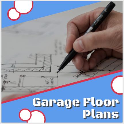 Garage Floor Plans small one car