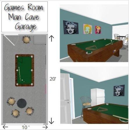 Man Cave Garage Games Room