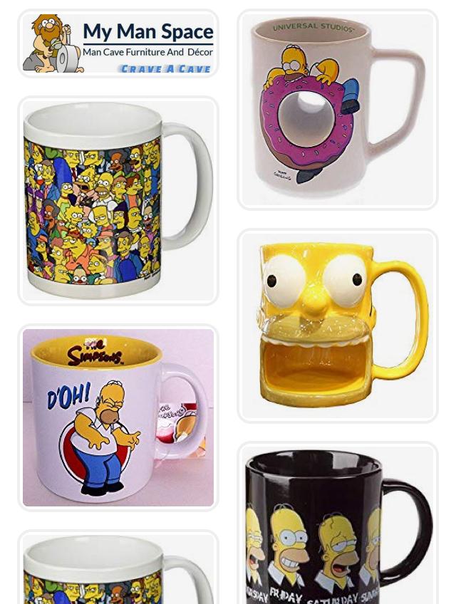5 Funny Simpsons Mugs