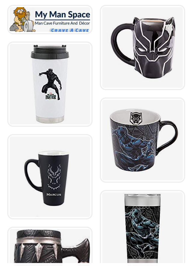 5 Of The Coolest Black Panther Coffee Mugs