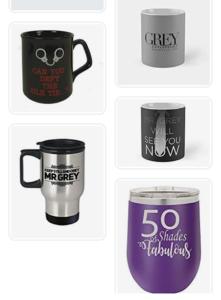 Fifty Shades Of Grey Coffee Mugs
