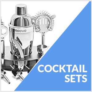 COCKTAIL SETS FOR A MAN CAVE