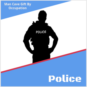 man cave gift for police/ law enforcement