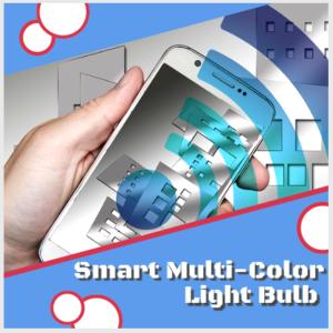 Smart LED Multi-Color Light Bulb