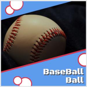 Baseball ball display for a man cave