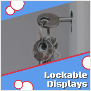Lockable display case for memorabilia man cave