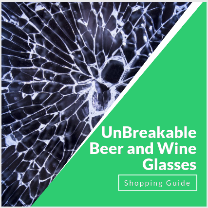 Unbreakable beer and wire glasses