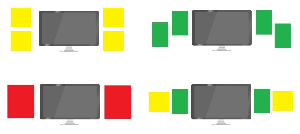 tv frame layout