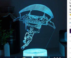 Fortnite 3D Optical Illusion Lamp