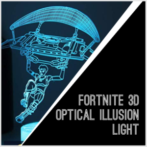fortnite 3D optical illusion light